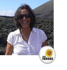DINA GARZÓN, CANDIDATA DE LOS VERDES AL PARLAMENTO POR LANZAROTE