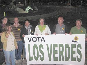 LOS VERDES DE SAN BARTOLOME DE TIRAJANA INICIA SU CAMPAÑA ELECTORAL
