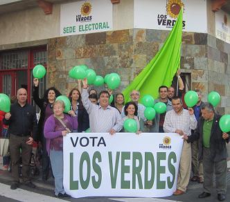 """LOS VERDES ANUNCIA UNA CAMPAÑA ELECTORAL """"ECOLÓGICA"""" EN LAS PALMAS DE GRAN CANARIA"""