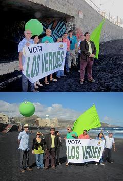 LOS VERDES TRABAJARÁN PARA RECUPERAR LA BANDERA AZUL DE LAS CANTERAS